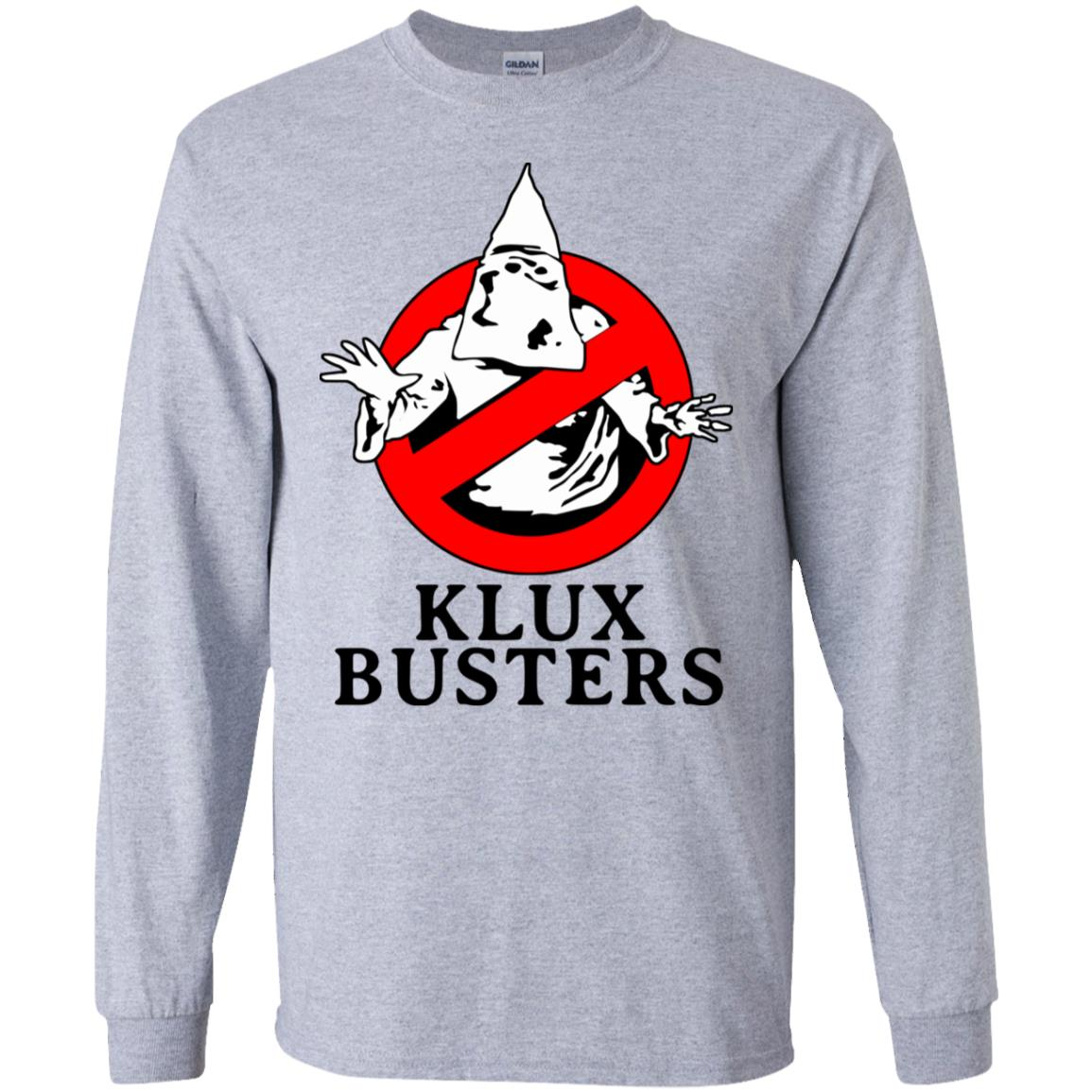 Klux Busters T Shirt Funny Birthday Cotton Tee Vintage Gift For Men Women