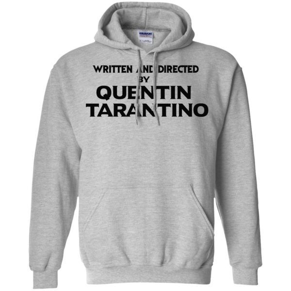 Written And Directed By Quentin Tarantino T-Shirts, Hoodie, Tank Apparel 9