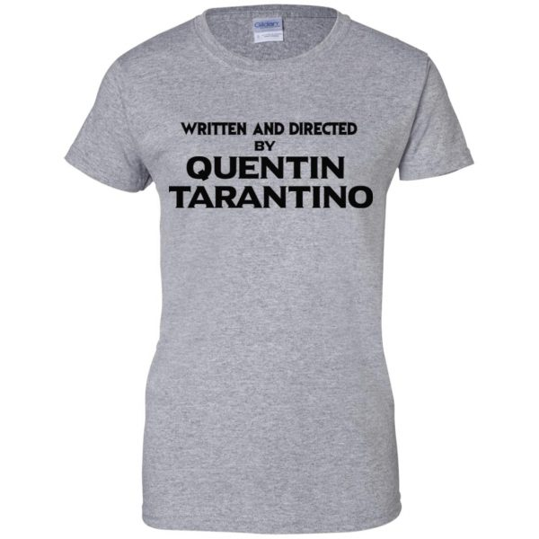 Written And Directed By Quentin Tarantino T-Shirts, Hoodie, Tank Apparel 12