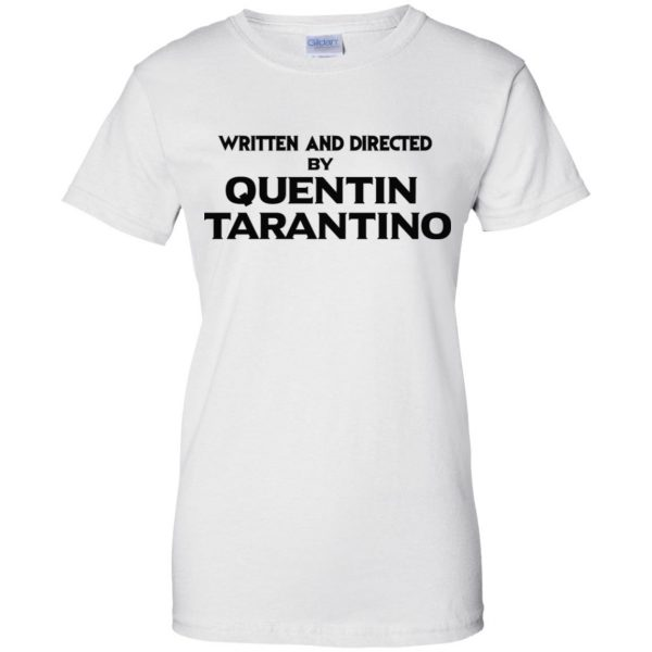 Written And Directed By Quentin Tarantino T-Shirts, Hoodie, Tank Apparel 13