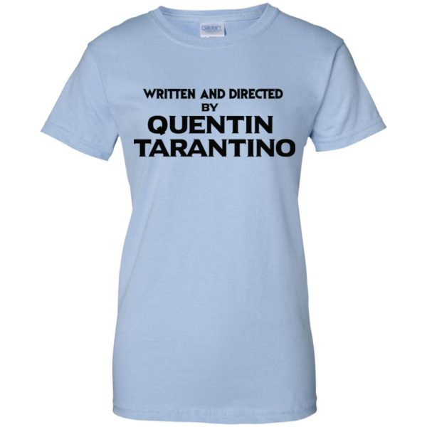 Written And Directed By Quentin Tarantino T-Shirts, Hoodie, Tank Apparel 14