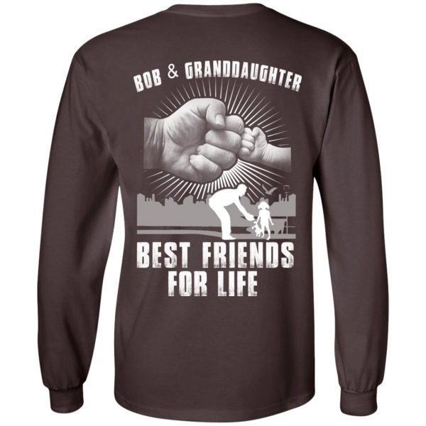 Bob And Granddaughter Best Friends For Life T-Shirts, Hoodie, Tank Apparel