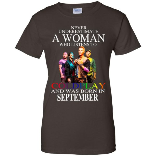 A Woman Who Listens To Coldplay And Was Born In September T-Shirts, Hoodie, Tank Apparel 12
