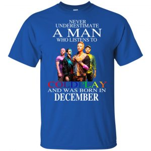 A Man Who Listens To Coldplay And Was Born In December T-Shirts, Hoodie, Tank Apparel 2