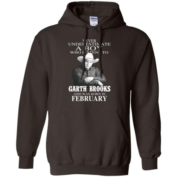 A Boy Who Listens To Garth Brooks And Was Born In February T-Shirts, Hoodie, Tank Apparel 11