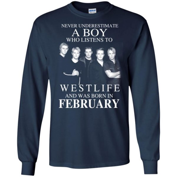 A Boy Who Listens To Westlife And Was Born In February T-Shirts, Hoodie, Tank Apparel 8