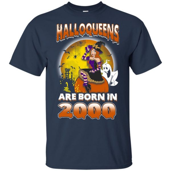 Halloqueens Are Born In 2000 Halloween T-Shirts, Hoodie, Tank Birthday Gift & Age 5