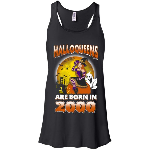 Halloqueens Are Born In 2000 Halloween T-Shirts, Hoodie, Tank Birthday Gift & Age 6