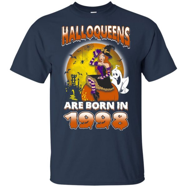 Halloqueens Are Born In 1998 Halloween T-Shirts, Hoodie, Tank Birthday Gift & Age 6