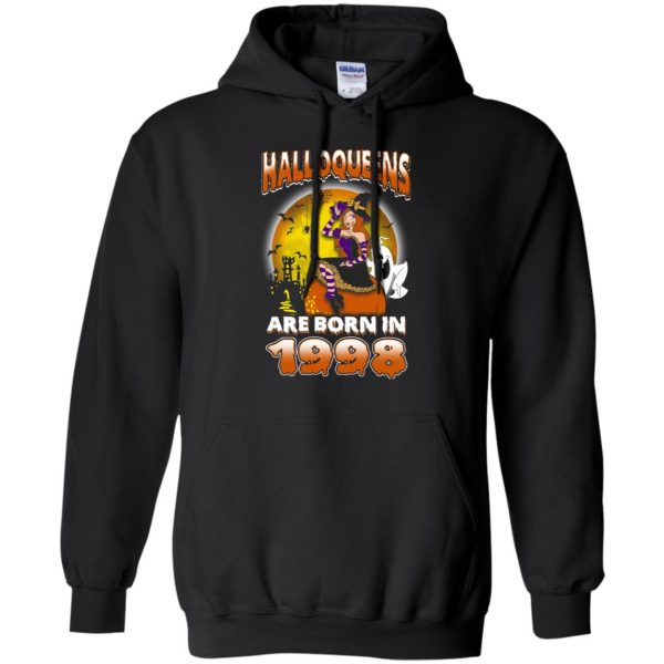 Halloqueens Are Born In 1998 Halloween T-Shirts, Hoodie, Tank Birthday Gift & Age 8