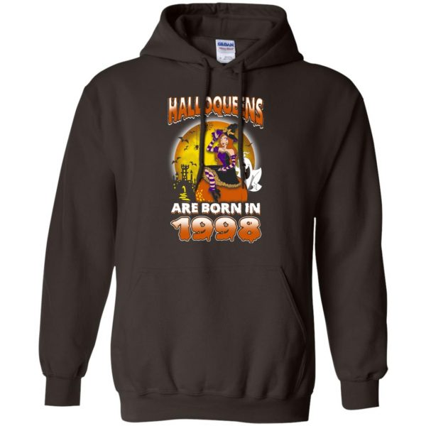 Halloqueens Are Born In 1998 Halloween T-Shirts, Hoodie, Tank Birthday Gift & Age 10