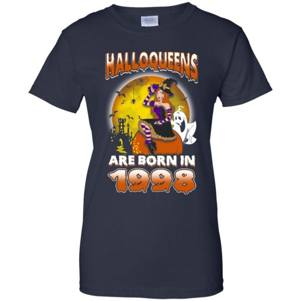 Halloqueens Are Born In 1998 Halloween T-Shirts, Hoodie, Tank Birthday Gift & Age 13