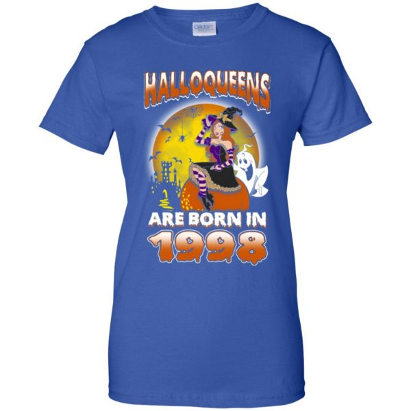 Halloqueens Are Born In 1998 Halloween T-Shirts, Hoodie, Tank Birthday Gift & Age 14