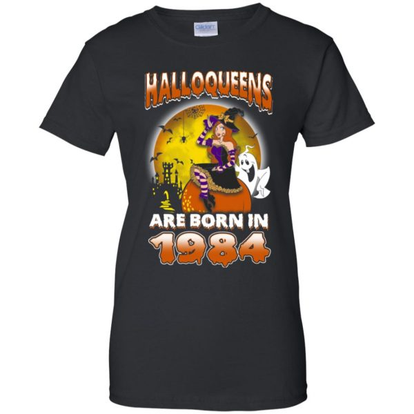 Halloqueens Are Born In 1984 Halloween T-Shirts, Hoodie, Tank