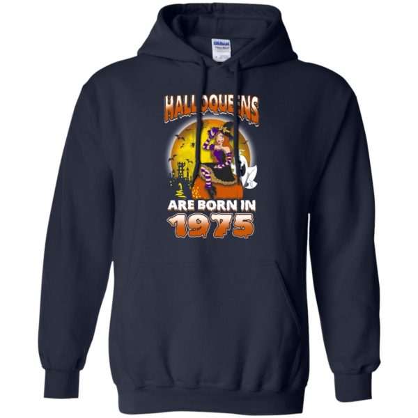 Halloqueens Are Born In 1975 Halloween T-Shirts, Hoodie, Tank Birthday Gift & Age 9