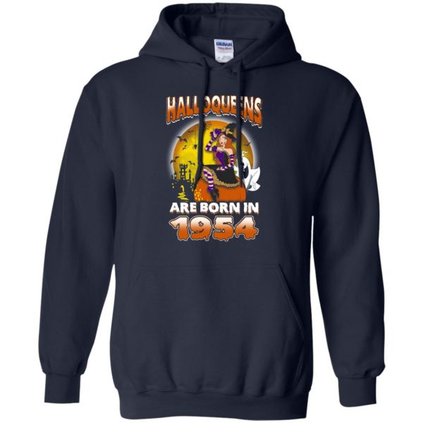 Halloqueens Are Born In 1954 Halloween T-Shirts, Hoodie, Tank Birthday Gift & Age