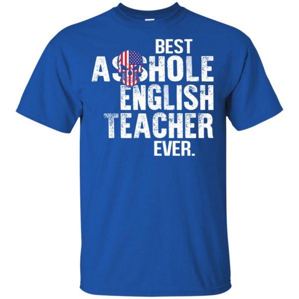 Best Asshole English Teacher Ever T-Shirts, Hoodie, Tank Jobs 5