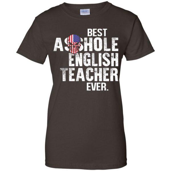 Best Asshole English Teacher Ever T-Shirts, Hoodie, Tank Jobs 12