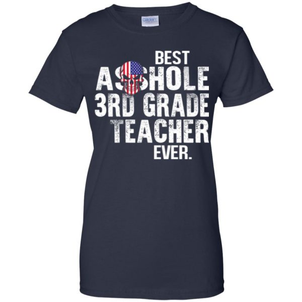 Best Asshole 3rd Grade Teacher Ever T-Shirts, Hoodie, Tank Jobs 13