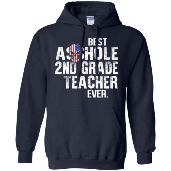 Best Asshole 2nd Grade Teacher Ever T-Shirts, Hoodie, Tank Jobs 8