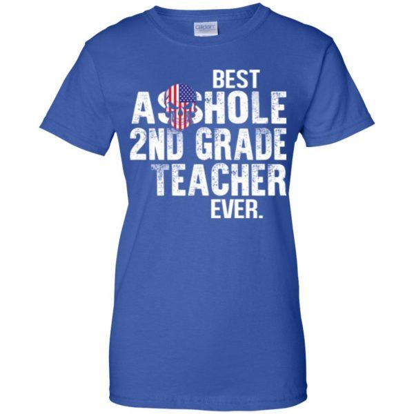 Best Asshole 2nd Grade Teacher Ever T-Shirts, Hoodie, Tank Jobs 14