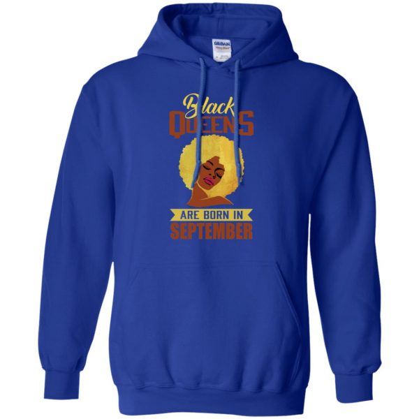 Black Queens Are Born In September T-Shirts, Hoodie, Tank Apparel