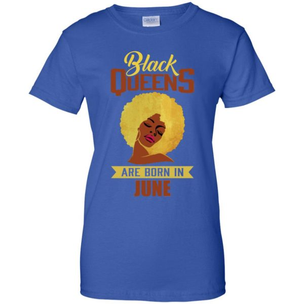 Black Queens Are Born In June T-Shirts, Hoodie, Tank
