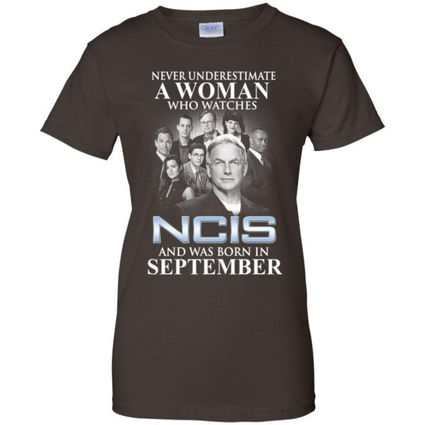 A Woman Who Watches NCIS And Was Born In September T-Shirts, Hoodie, Tank Apparel 12