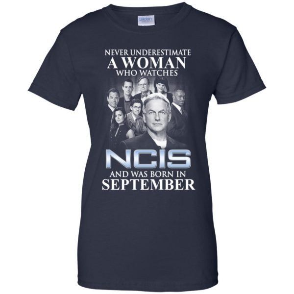 A Woman Who Watches NCIS And Was Born In September T-Shirts, Hoodie, Tank Apparel 13