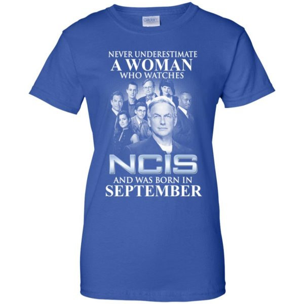 A Woman Who Watches NCIS And Was Born In September T-Shirts, Hoodie, Tank Apparel 14