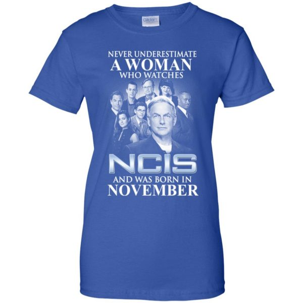 A Woman Who Watches NCIS And Was Born In November T-Shirts, Hoodie, Tank Apparel 14