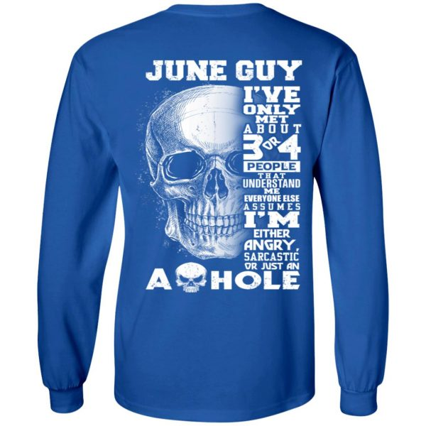June Guy I've Only Met About 3 Or 4 People T-Shirts, Hoodie, Tank