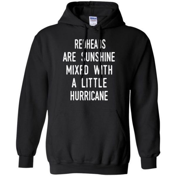 Redhead Girls Are Sunshine Mixed With A Little Hurricane T-Shirts, Hoodie, Tank Apparel 7