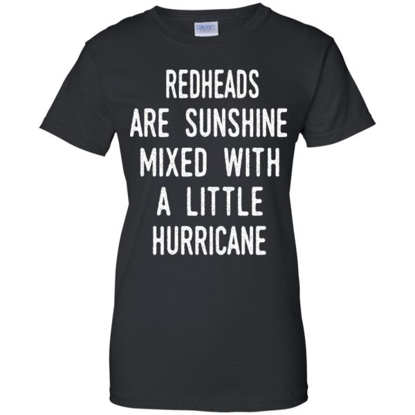 Redhead Girls Are Sunshine Mixed With A Little Hurricane T-Shirts, Hoodie, Tank Apparel 11