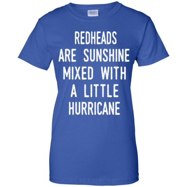 Redhead Girls Are Sunshine Mixed With A Little Hurricane T-Shirts, Hoodie, Tank Apparel 14
