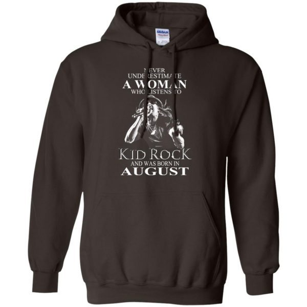 A Woman Who Listens To Kid Rock And Was Born In August T-Shirts, Hoodie, Tank Apparel 9