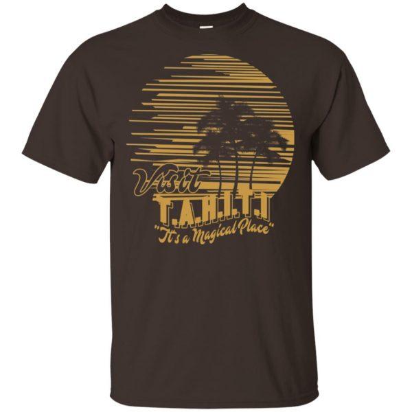 Visit T.A.H.I.T.I It's A Magical Place T-Shirts, Hoodie, Tank Apparel 4