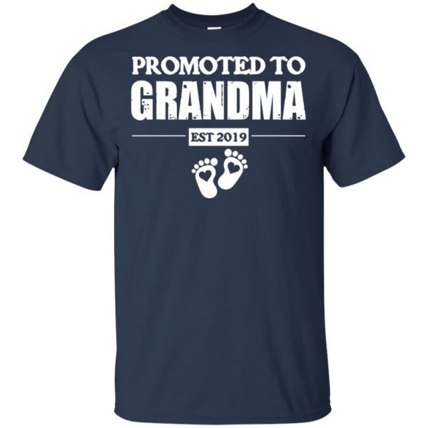 Promoted To Grandma Est 2019 T-Shirts, Hoodie, Tank Apparel