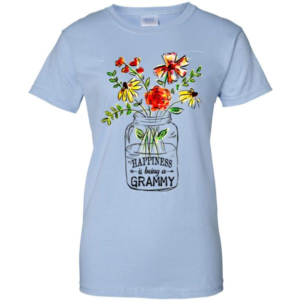 Happiness Is Being A Grammy Flower T-Shirts, Hoodie, Tank