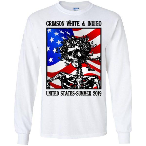 Crimson White & Indigo United States Summer 2019 T-Shirts, Hoodie, Tank Apparel
