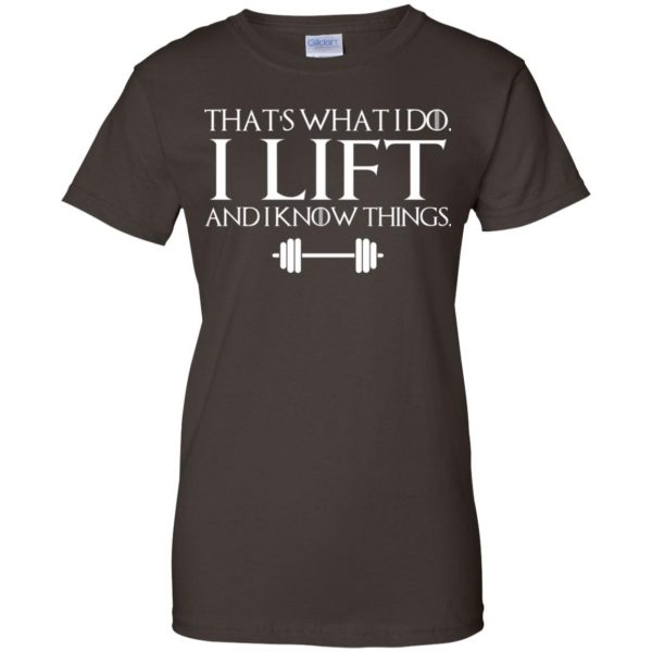 That's What I Do I Lift And I Know Things T-Shirts, Hoodie, Tank Apparel 12