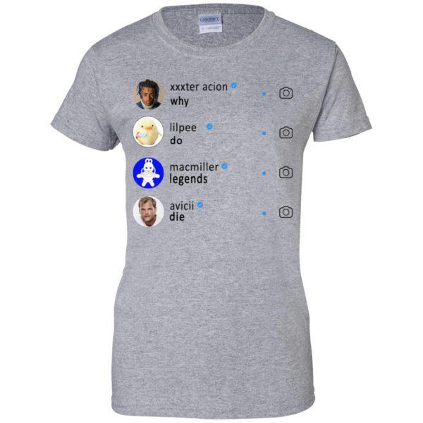Why Do Legends Die Hoodie XXX LilPeep MacMiller Avicii T-Shirts, Hoodie, Tank Apparel 12