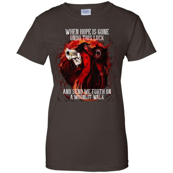 When Hope Is Gone Undo This Lock And Send Me Forth On A Moonlit Walk – Alucard T-Shirts, Hoodie, Tank