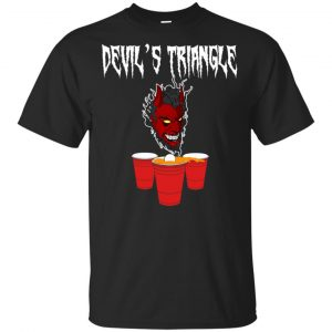 Devil's Triangle Drinking Game T-Shirts, Hoodie, Tank Apparel