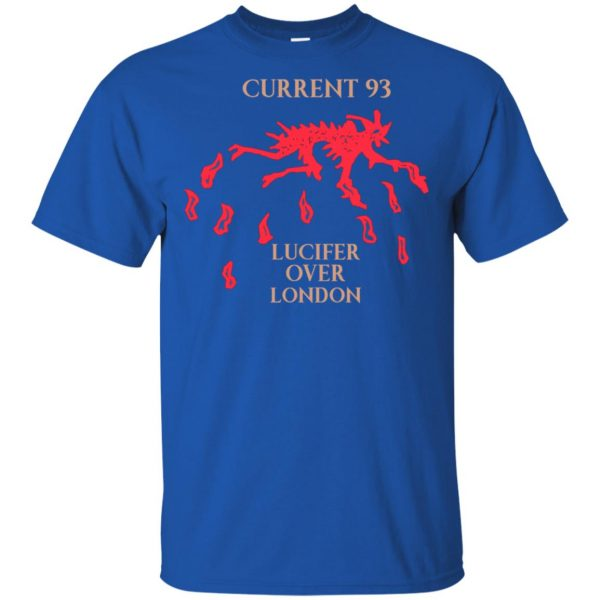 Current 93 Lucifer Over London T-Shirts, Hoodie, Tank