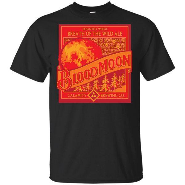The Legend Of Zelda: Breath Of The Wild Ale Blood Moon T-Shirts, Hoodie, Tank Apparel 3