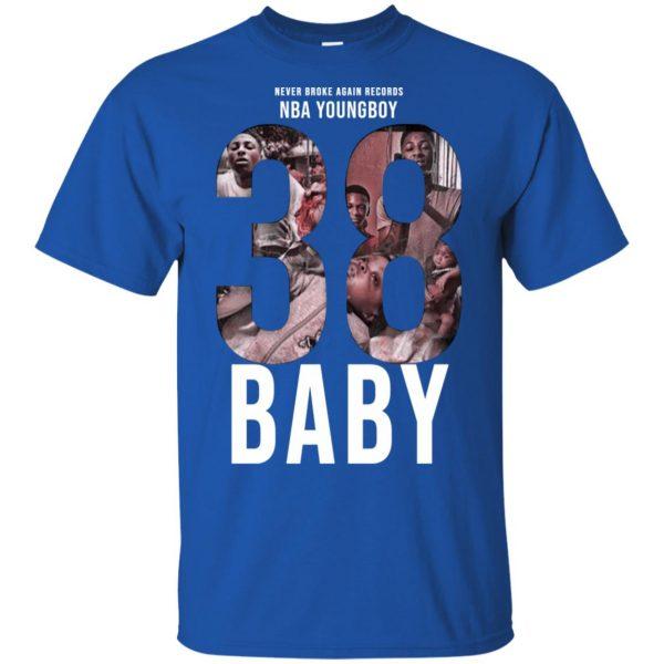 38 Baby Hoodies, T-Shirts NBA Youngboy T-Shirts, Hoodie, Tank Apparel 5