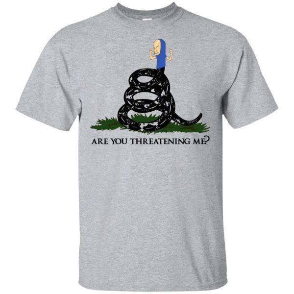 Gadsden Flag Beavis: Are You Threatening Me T-Shirts, Hoodie, Tank Apparel 3