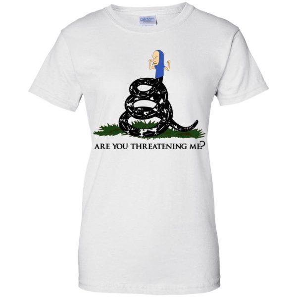 Gadsden Flag Beavis: Are You Threatening Me T-Shirts, Hoodie, Tank Apparel 13