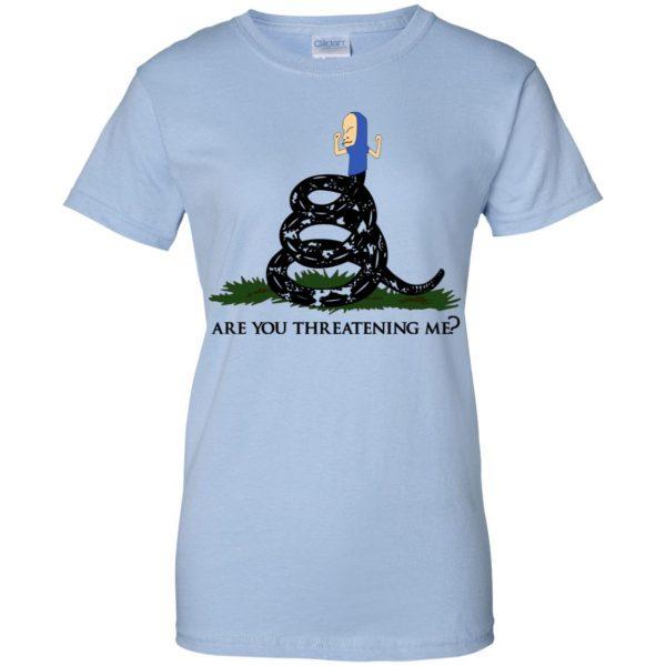 Gadsden Flag Beavis: Are You Threatening Me T-Shirts, Hoodie, Tank Apparel 14